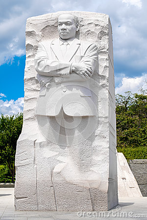 The Martin Luther King Jr. National Memorial in Washington D.C. Editorial Stock Photo