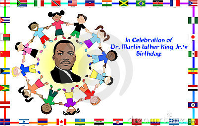 Happy Martin Luther King Clip Art