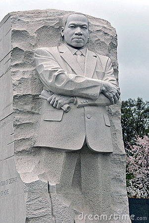Martin Luther King Memorial Editorial Stock Image