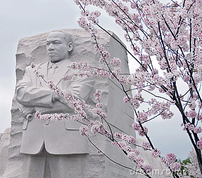 Martin Luther King Memorial Editorial Photo