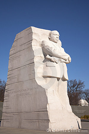 Martin Luther King Memorial front view Editorial Image