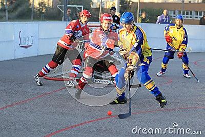 Martin Smid - ball hockey Editorial Image