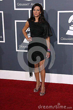Martina McBride at the 53rd Annual Grammy Awards, Staples Center, Los Angeles, CA. 02-13-11 Editorial Image