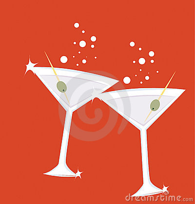 Free Martini Royalty Free Stock Image - 10832136