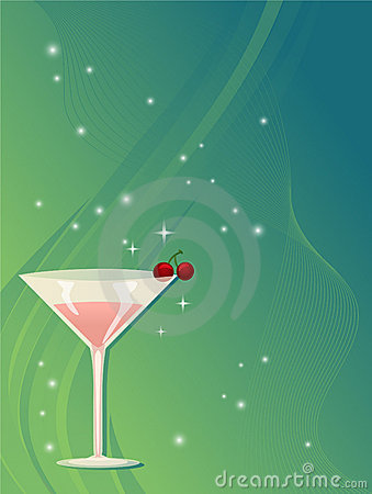 Free Martini Background Stock Photos - 17501223