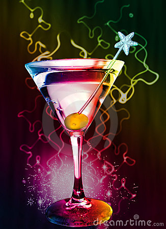 Free Martini Cocktail Royalty Free Stock Photo - 12101775