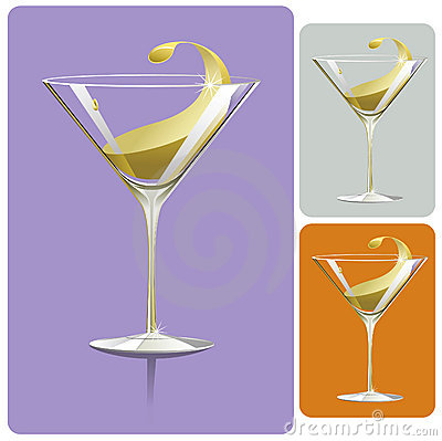 Free Martini Glass Royalty Free Stock Photography - 11168537