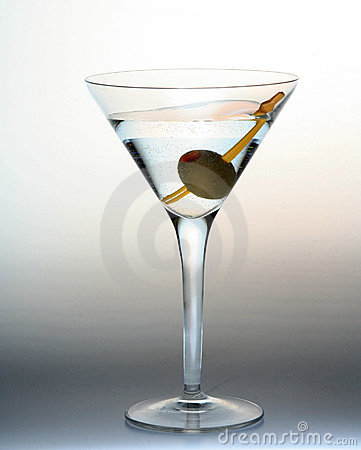 Free Martini Glass Royalty Free Stock Photo - 1953635