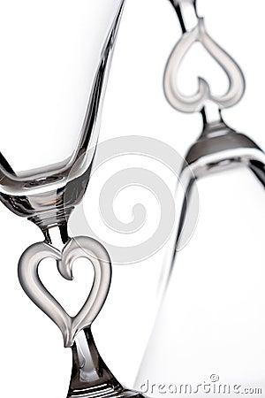 Free Martini Glasses Royalty Free Stock Photo - 13305835