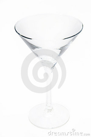 The martini glasses