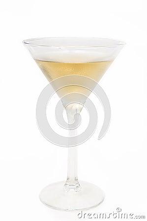 The martini glasses