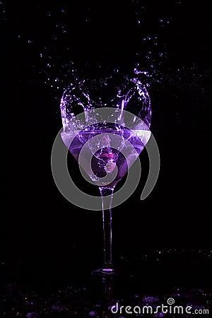 Free Martini Splash Royalty Free Stock Photography - 1159747