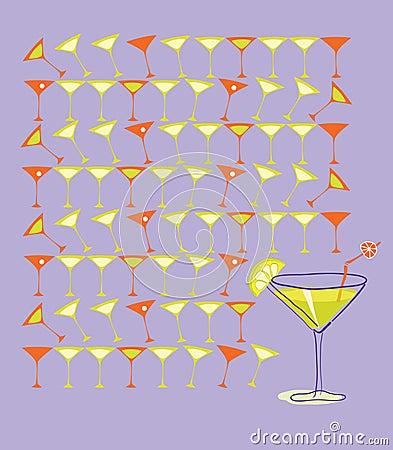 Martini with Summer Lemon