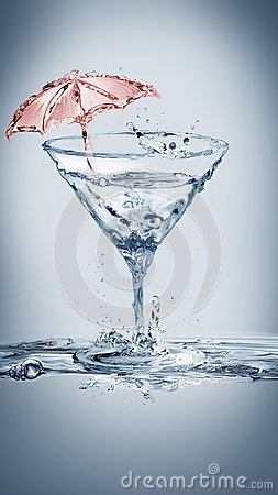 Free Martini Summer Party Stock Image - 103187101