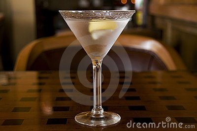 Martini with a Twist of Lemon