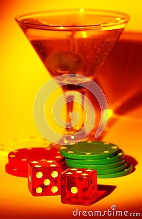 Martini y dados