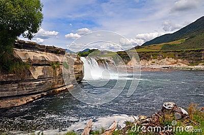Maruia Falls, West Coast, New Zealand