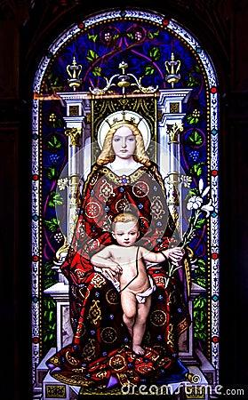 Free Mary And Jesus Stock Photos - 77004843