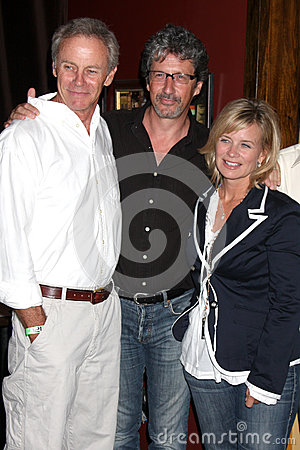 Mary Beth Evans,Mary-Beth Evans,Tristan Rogers,Charles Shaughnessy Editorial Stock Image