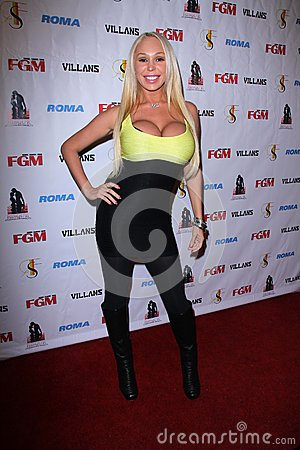 Mary Carey at the FGM Swimsuit Issue Launch Hosted By Roma Swimwear, The Colony, Hollywood, CA 05-26-12 Editorial Stock Photo