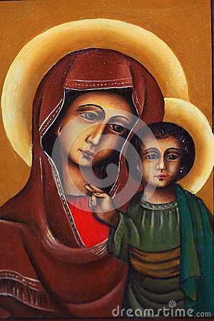Mary with child Jesus