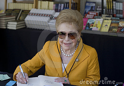 Mary Higgins Clark Editorial Photo