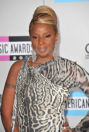 Mary J. Blige Editorial Stock Photo