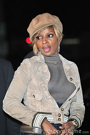 Mary J. Blige Editorial Image