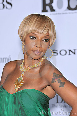 Mary J. Blige Editorial Stock Image