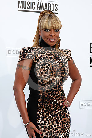 Mary J. Blige Editorial Photo