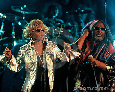 Mary J Blige and George Clinton Editorial Stock Photo