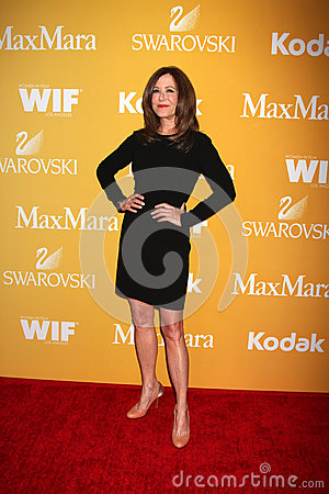 Mary McDonnell arrives at the City of Hope s Music And Entertainment Industry Group Honors Bob Pittman Event Editorial Photography