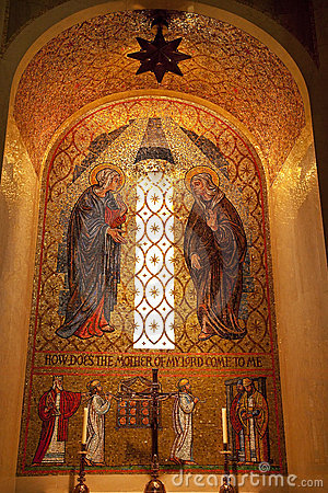 Mary Mosaic Shrine Immaculate Conception