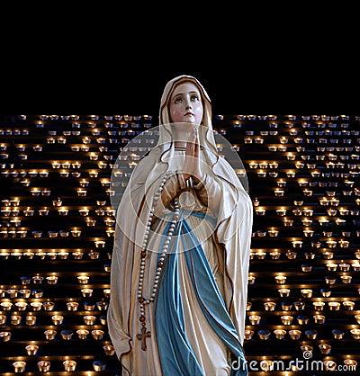 Mary (mother of Jesus). Church of St. Eufemia (Euphemia), Rovinj ...