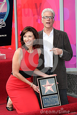 Mary Steenburgen,Ted Danson Editorial Stock Photo