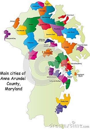 Maryland county