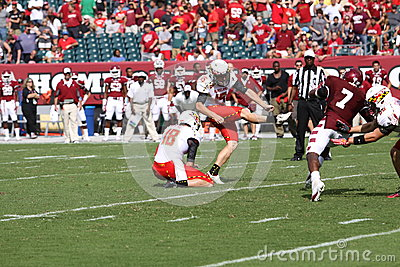 Maryland kicker Brad Craddock Editorial Stock Image