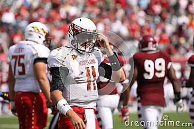 Maryland Quarterback # 11 Perry Hills Editorial Photo