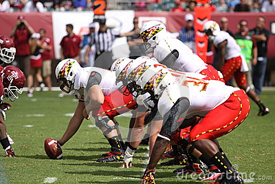 Maryland Quarterback # 11 Perry Hills Editorial Stock Image