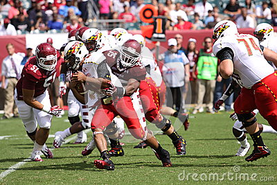 Maryland Quarterback # 11 Perry Hills Editorial Stock Photo