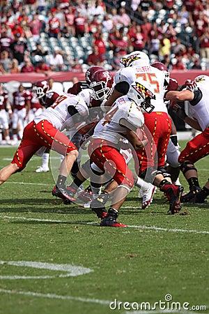 Maryland runningback Justus Pickett Editorial Photography