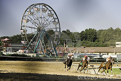 Maryland State Fair Racing Editorial Photo