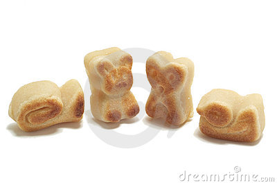 Marzipan shapes