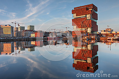 MAS, Antwerp, Belgium Editorial Photography