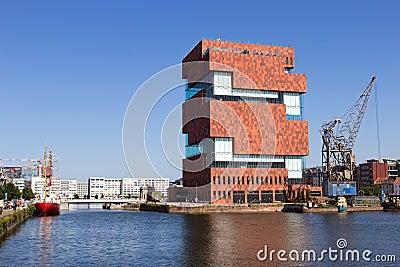 MAS Museum - Antwerp Editorial Stock Image