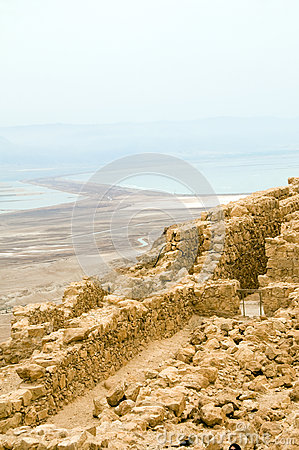 Masada ancient fortress Dead Sea Israel