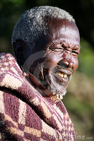 Masai Elder (Kenya) Editorial Image