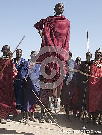 Masai jumper Editorial Photography