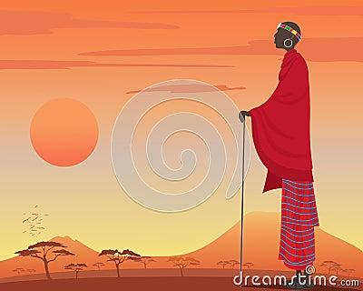 Masai man