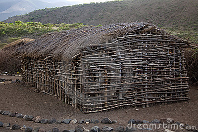 Masai village 002